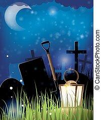 Night Cemetery