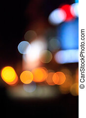 night city abstract blur - abstract blur lights of the night...