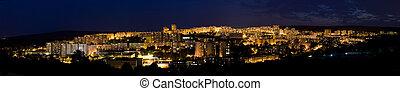night city panorama - bratislava