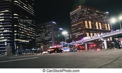 Night city. Seoul South Korea