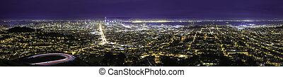Night Cityscape of San Francisco