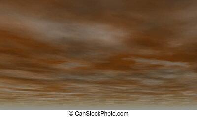 Night cloudy sky