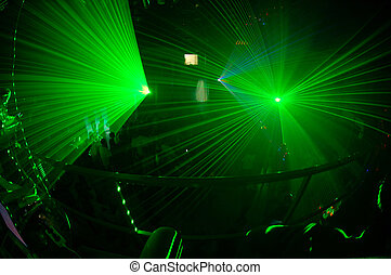 Night club 2 - Russian night clud with green light system