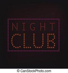Night Club banner