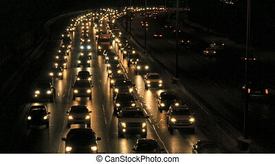 Night Commuter Traffic