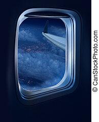 Night flight travel