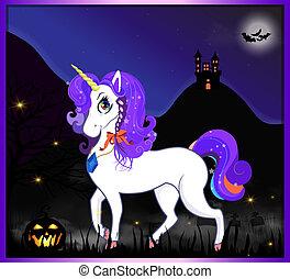 night halloween unicorn 2.eps
