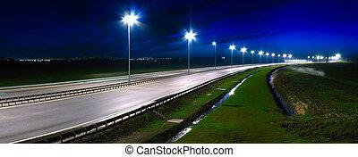 night highway