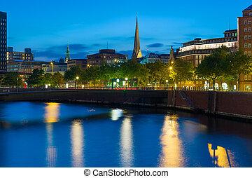 Night in Hamburg
