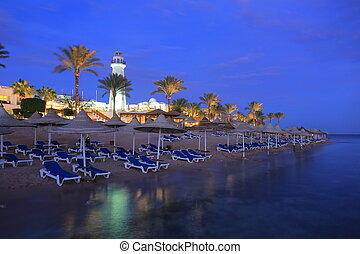 Night in Sharm el-Sheikh