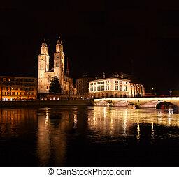 Night in Zurich