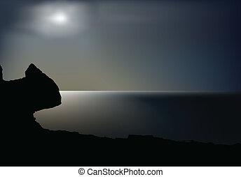 night landscape
