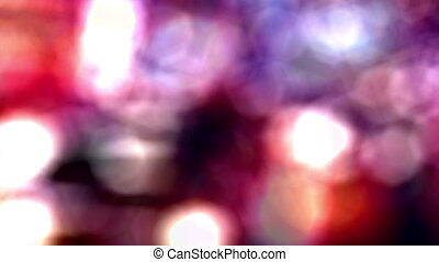 Night Lights Background - A colorful abstract background...