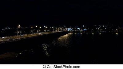 Night lights Bridge machine 0
