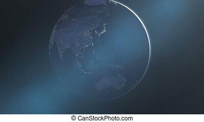 Night Lights of Asia & Australia