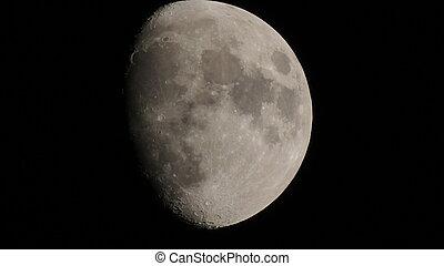 Night moon.
