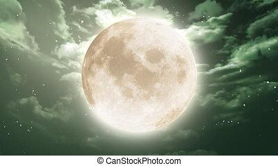 night moon large animation