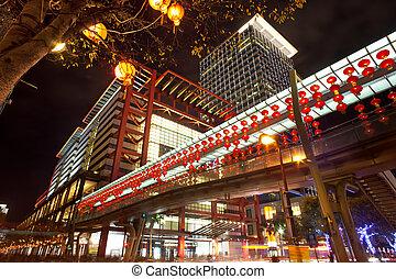 Night of Taipei city, Taiwan