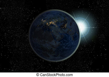 Night on Planet Earth