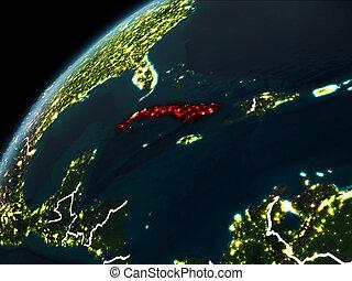 Night over Cuba