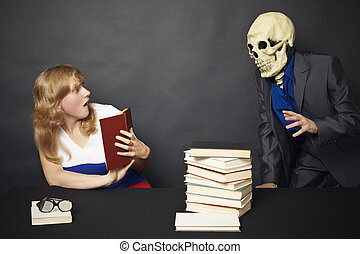 Night reading of terrible books