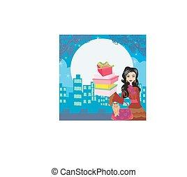 night sale illustration