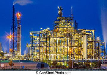 Industrial Chemical plant framework