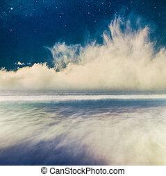 Night Seascape Fantasy