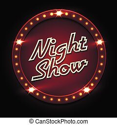 Night Show Poster Template
