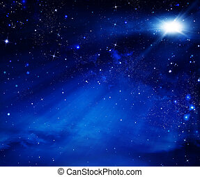 night sky, space background - elegant abstract background of...