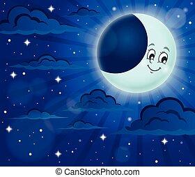 Night sky theme image 6 - eps10 vector illustration.