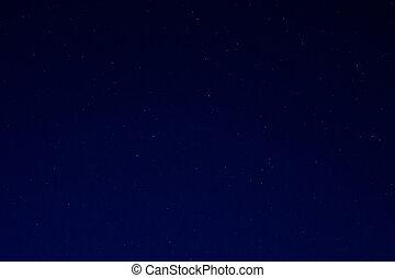 Night Sky with Stars - Dark night sky background and small...