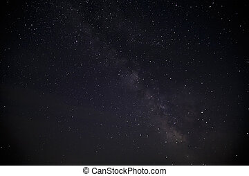 night sky with stars.  Milky Way