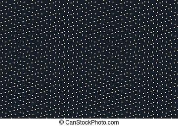 Night sky with stars seamless pattern