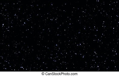 Night starry sky with stars and planets suitable as ...