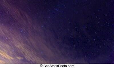 night the starry sky