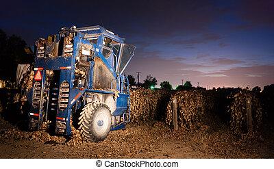Night Time Agriculture Fruit Harvest Grape Harvesting Machine