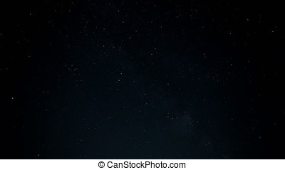 NIght time timelapse with a sky full of stars. Long exposure...