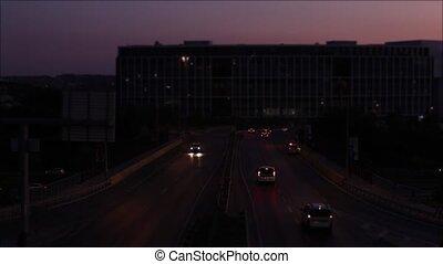 Night Traffic in Istanbul