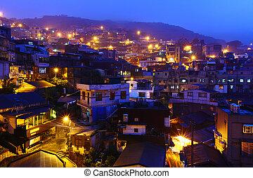 night view in Taiwan