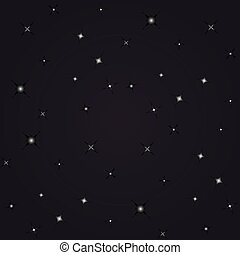 night view stars seamless background pattern made in vector...