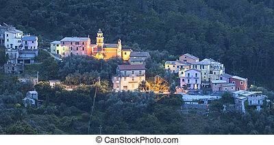 Night village