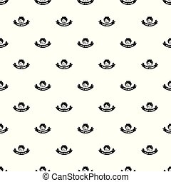 Night window pattern vector seamless