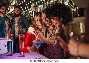 Nightclub Selfie