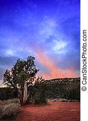 Nightfall in Arizona