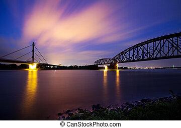 nightfall river