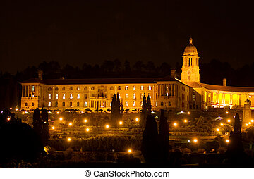nightlife #1 - Unionbuildings in Pretoria, South Africa at...