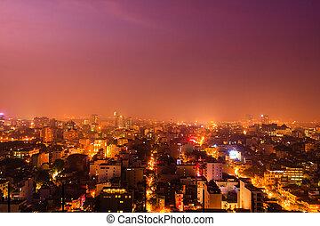 Nightlife in Hanoi Vietnam
