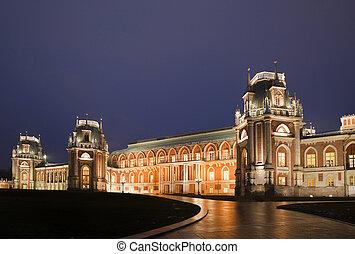 nightlighting, hofburg, von, staat, historische , und,...