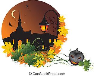 nightly, ville, halloween.